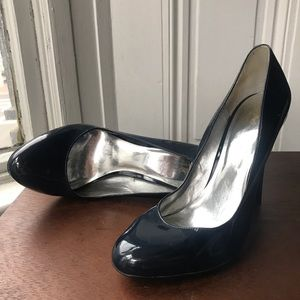 Mossimo Target patent navy stiletto pumps
